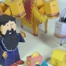 Les rois mages : papertoy
