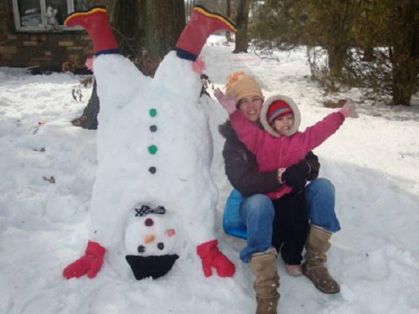 photos bonhommes de neige