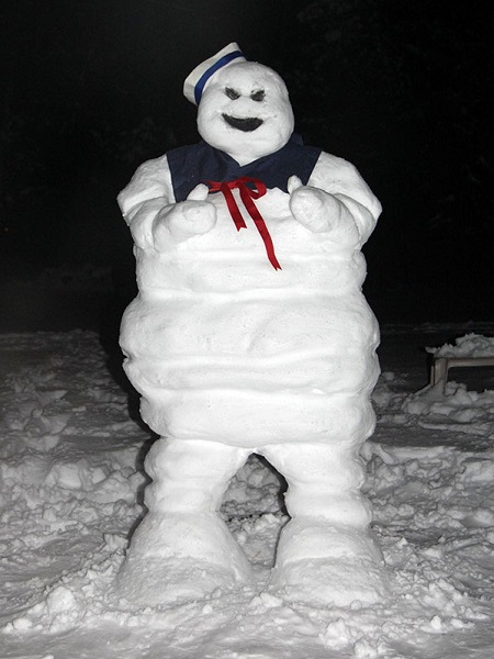 bonhomme de neige original