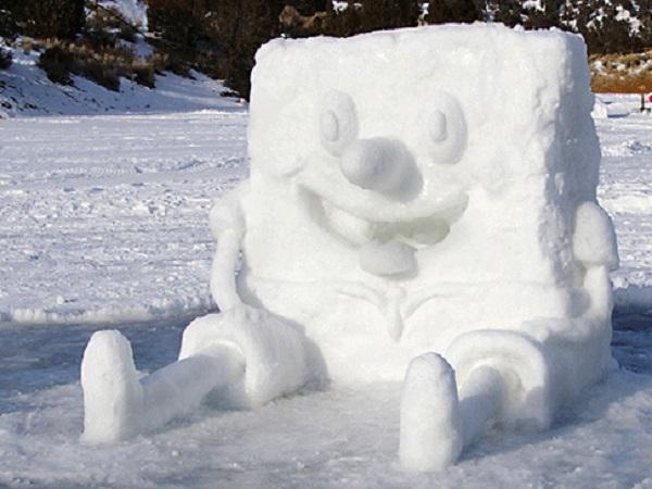 photo bonhomme de neige