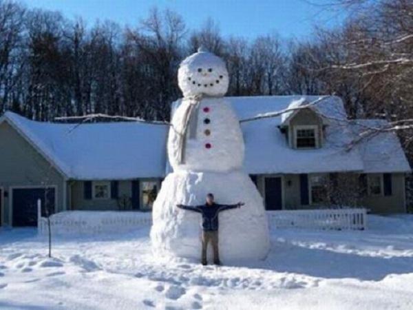 idée bonhome de neige