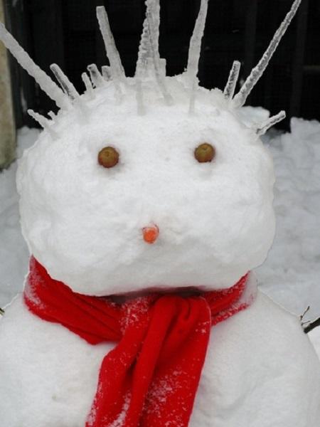 idées de bonhomes de neige