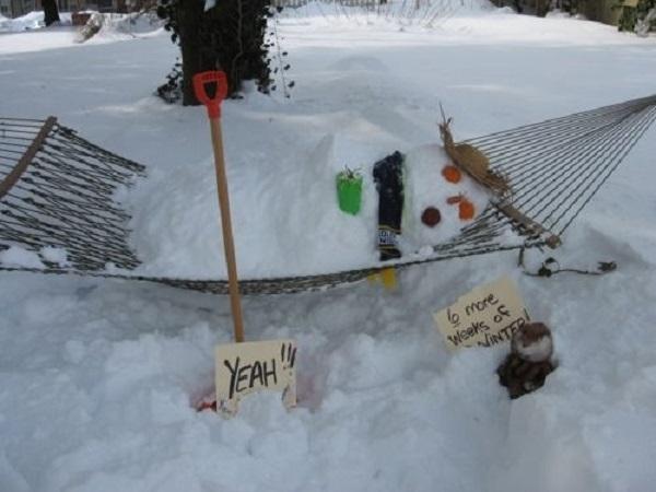 bonhomme de neige idée
