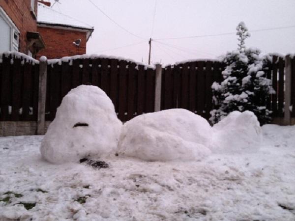 bonhomme de neige photo