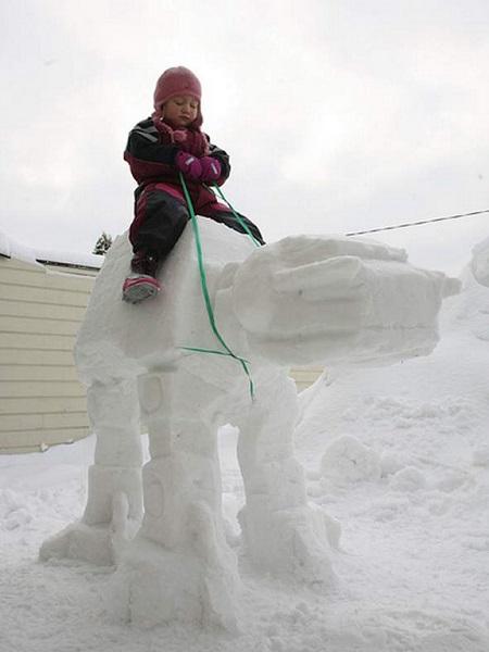 photo de bonhommes de neige