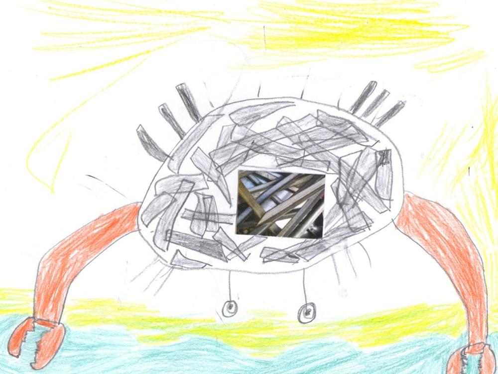 dessin crabe enfant