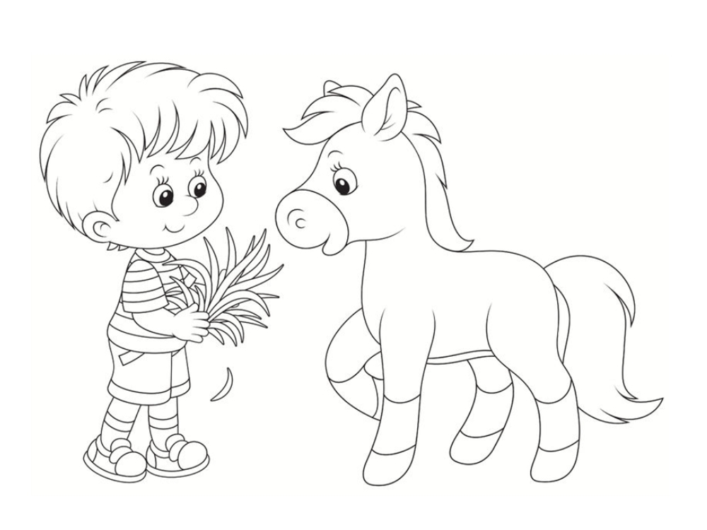 Coloriage poney dessins imprimer - Coloriage poney ...