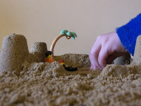 sable à modeler