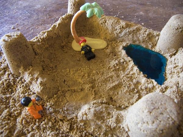 sable à modeler tropical