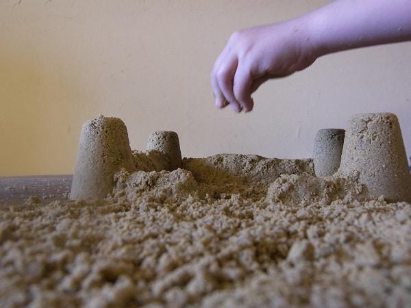 modeler du sable