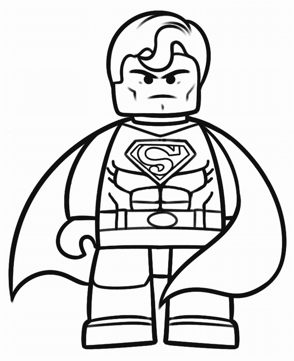 Coloriage lego 20 dessins imprimer gratuitement - Lego coloriage ...