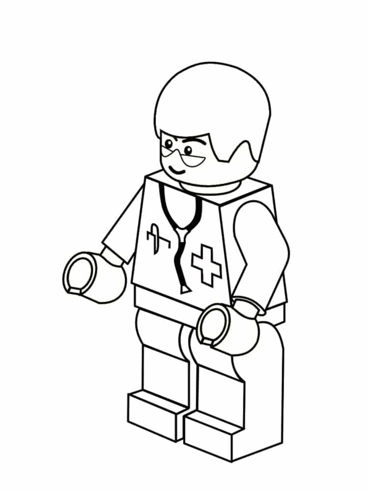 Coloriage LEGO : 20 dessins à imprimer gratuitement