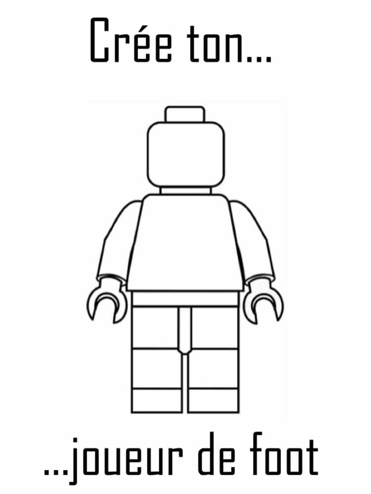 Coloriage lego 20 dessins imprimer gratuitement - Image de joueur de foot a imprimer ...