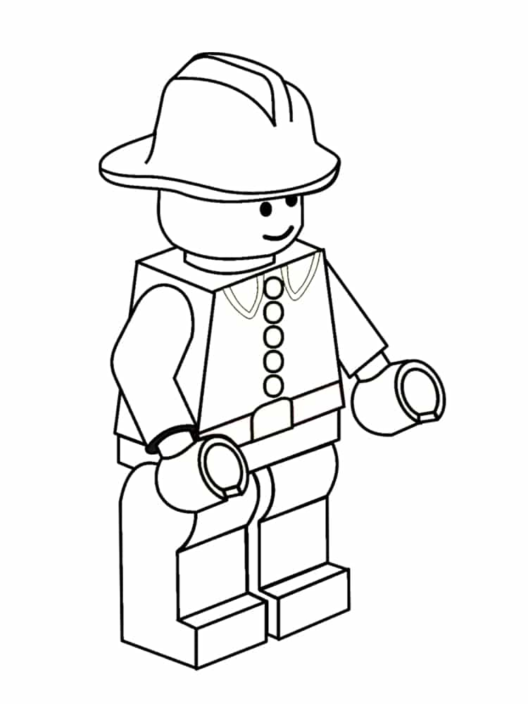 Coloriage lego 20 dessins imprimer gratuitement - Dessin de lego city ...