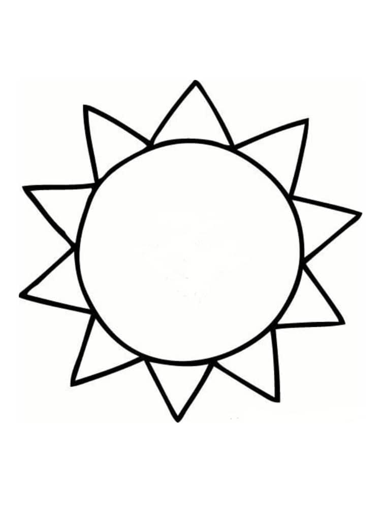 coloriage soleil 20 modeles a imprimer