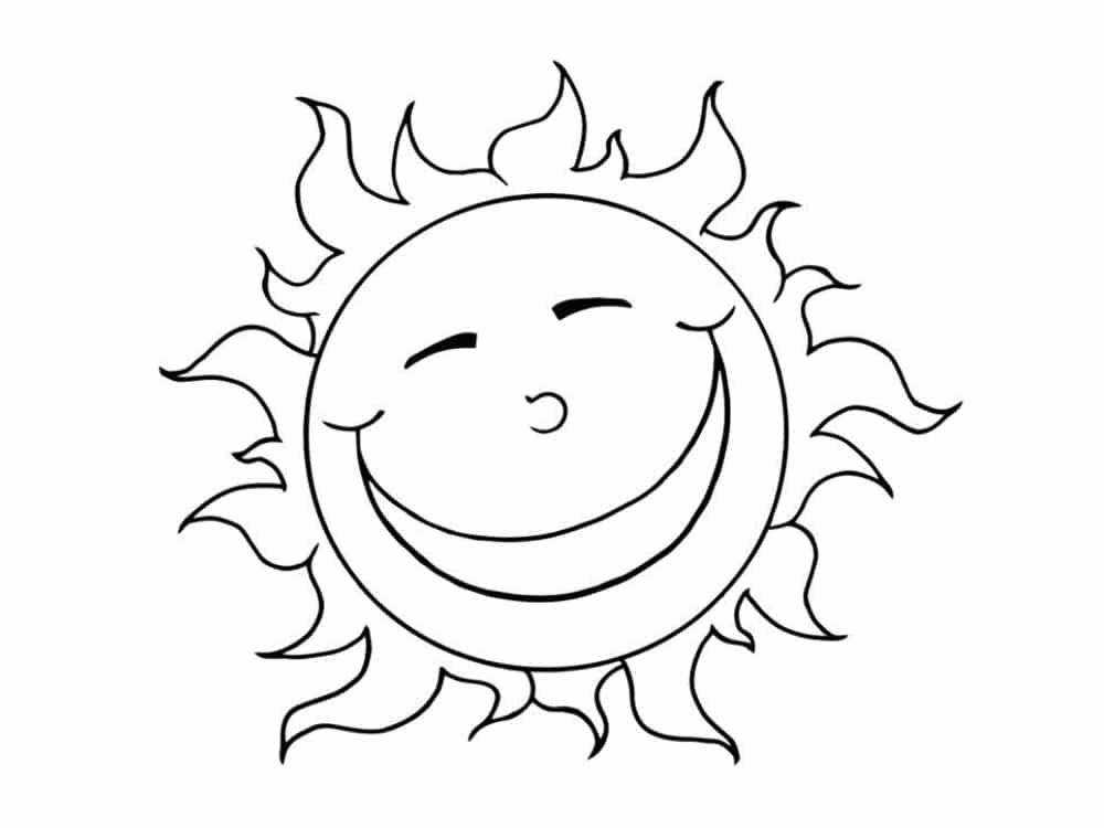 Coloriage soleil 20 mod les imprimer - Dessin soleil rigolo ...
