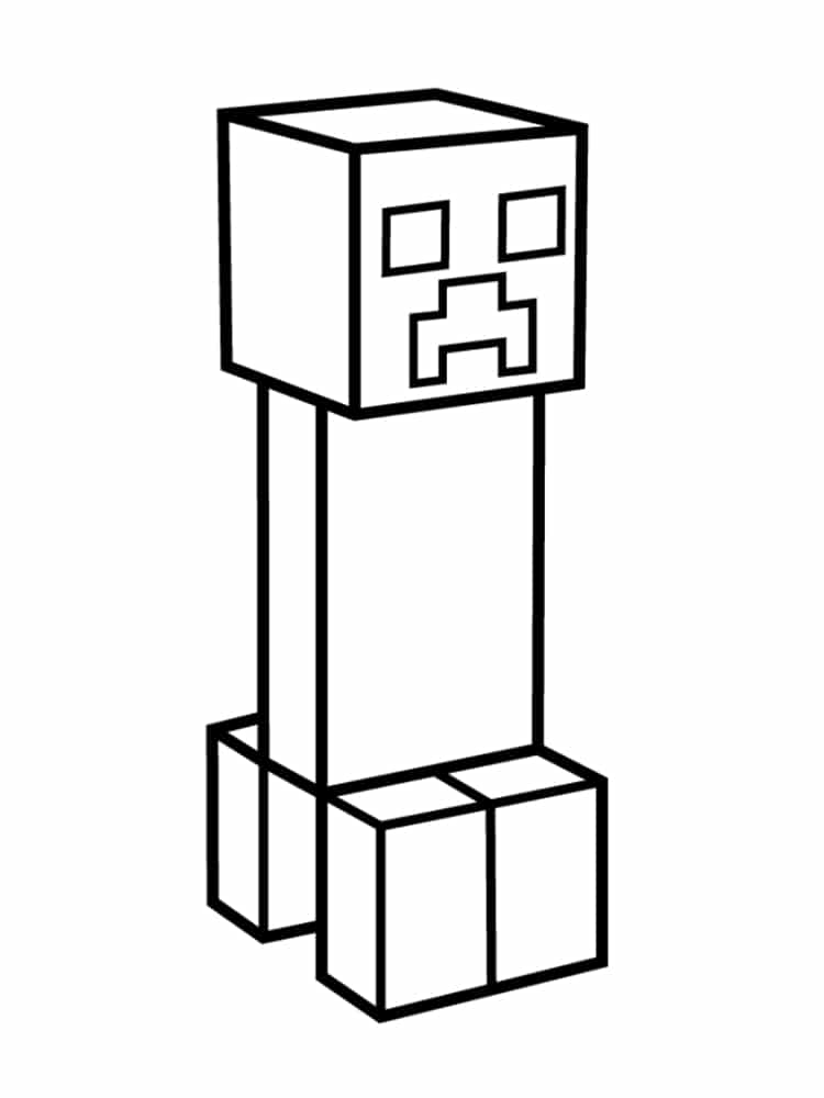Dessin Minecraft Facile à Faire