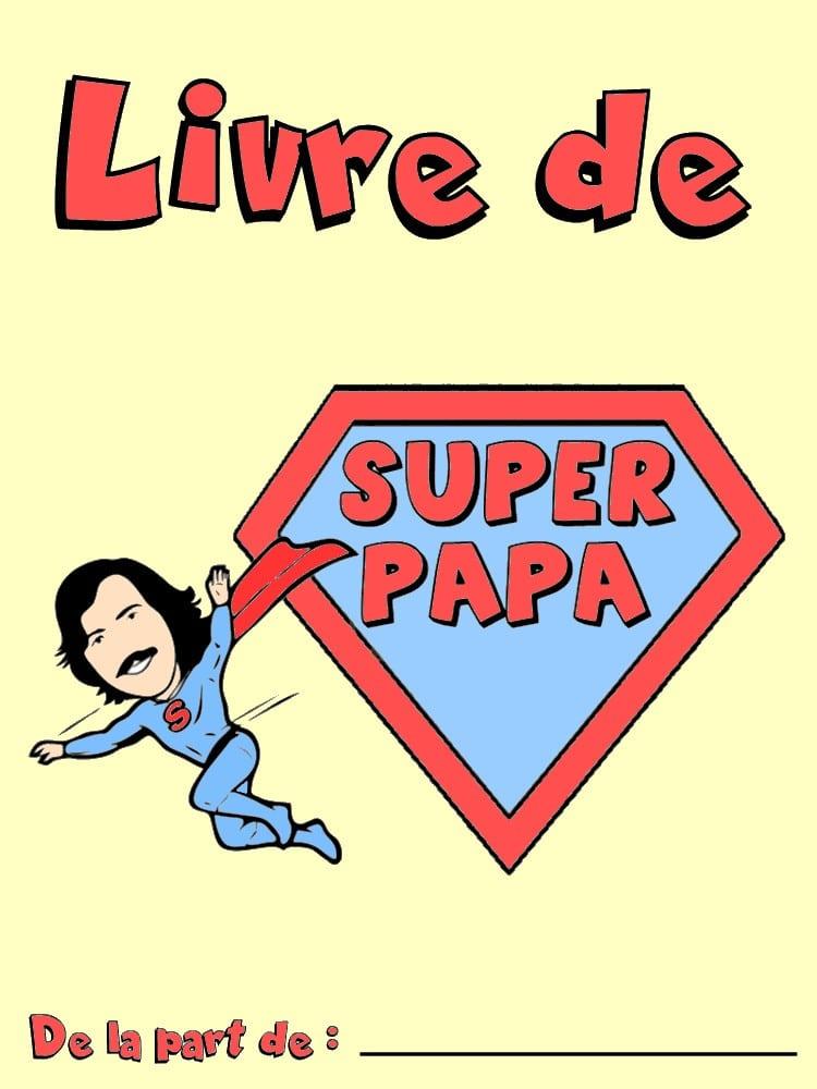 livre de papa  u00e0 imprimer