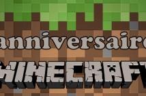 Anniversaire Minecraft