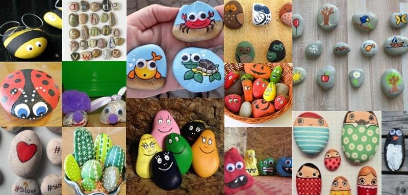 25 choses que vous pouvez faire avec des pierres - Bricolage a faire a la maison ...
