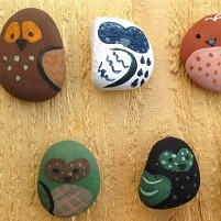 bricolage pierres