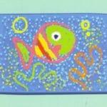 poisson petits enfants