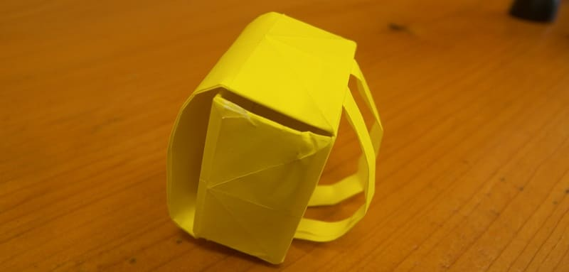 origami cartable