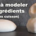 Pâte à modeler avec deux ingrédients… et sans cuisson