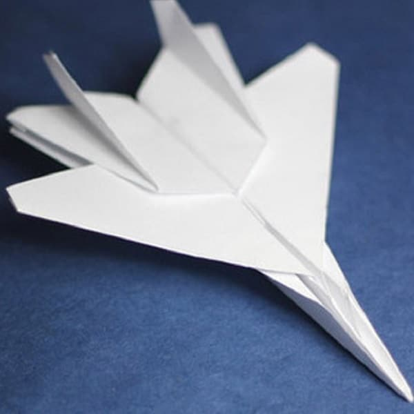 Origami Avion De Chasse Tutoriel Vid 233 O