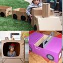 25 choses que vous pouvez faire avec des cartons qui vont booster l'imagination de vos enfants