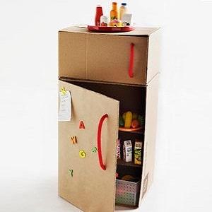25 choses que vous pouvez faire avec des cartons qui vont. Black Bedroom Furniture Sets. Home Design Ideas