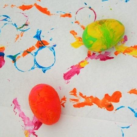 Peinture Sans Pinceau : 25 Idées Créatives