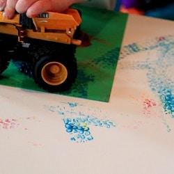 idée peinture enfant