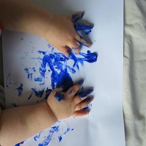 peinture enfant idées