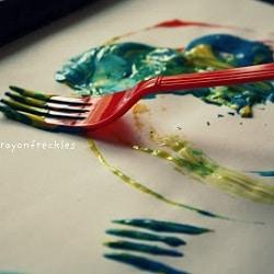 peindre sans pinceau