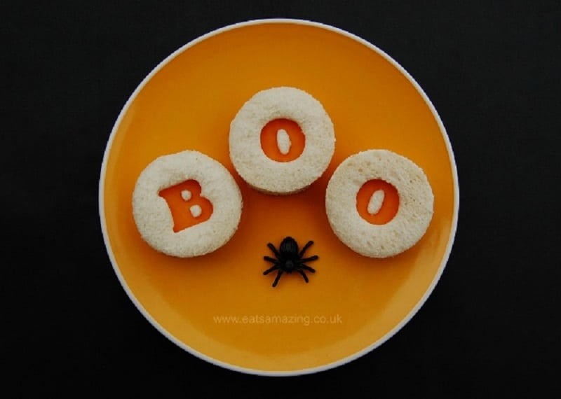 sandwhich pour halloween