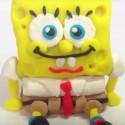 Bob l'Éponge en pâte à modeler
