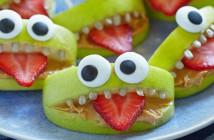 Croc de pomme halloween