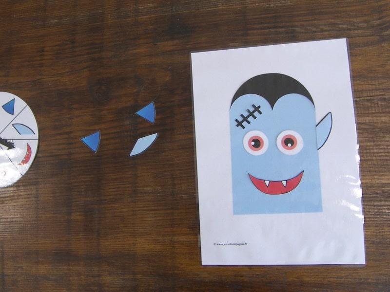jeu vampire à imprimer