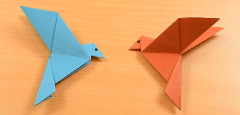 Origami oiseau facile - Origami simple a realiser ...