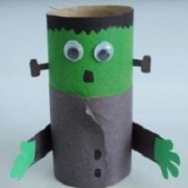 Personnages d 39 halloween avec des rouleaux - Creation rouleau de papier toilette ...