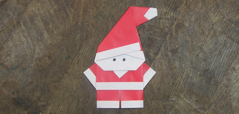 Origami p re no l facile et super mignon - Origami facile pour noel ...