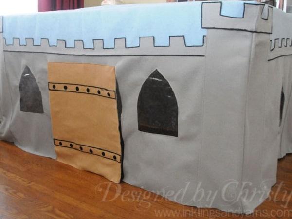 cabane château fort