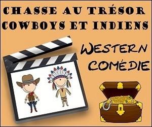 chasse au trésor cowboy