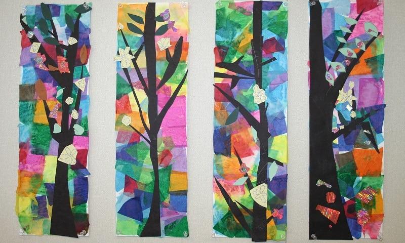 Relativ Papier collage nature : 25 idées créatives ! OM32
