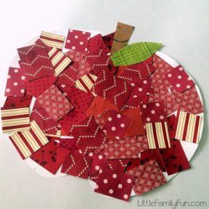 papier collage automne