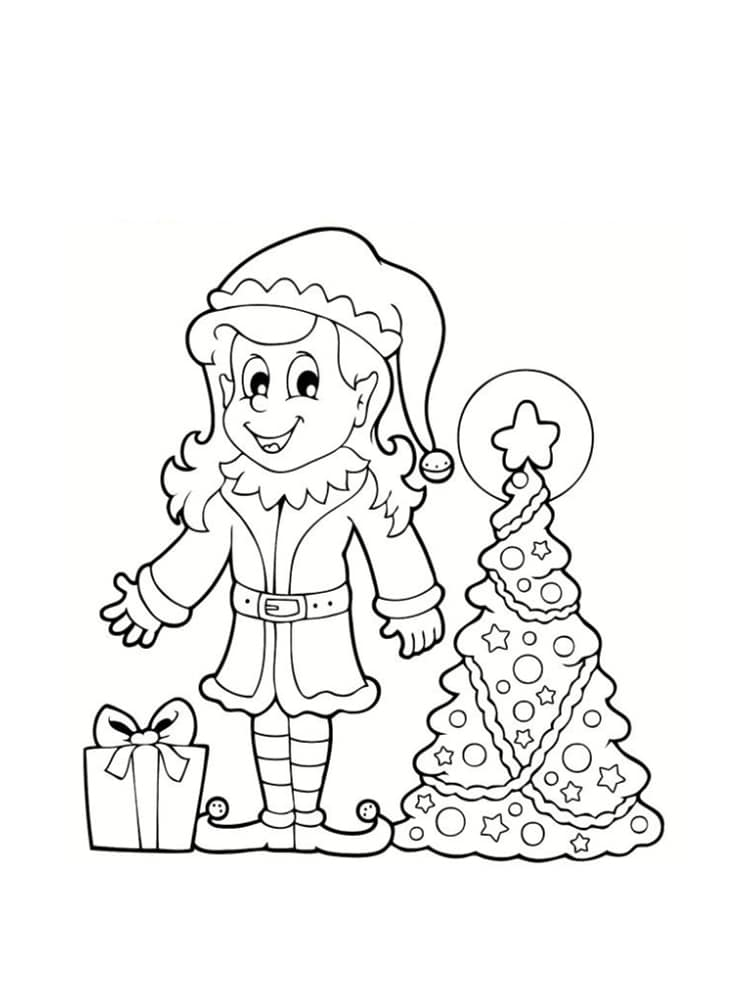 Hd Wallpapers Coloriage Lutin Pere Noel Imprimer 1080 Wallpaper Bto Pw