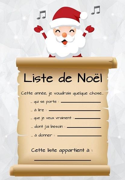 liste noel La meilleure liste de Noël ! liste noel