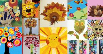 papier collage nature