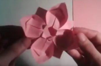Origami Citrouille Facile